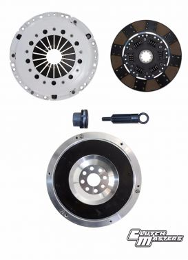 Clutchmasters FX250: 03CM1-HD0F-AK Clutch kit with Aluminium Flywheel for the BMW M3 S50 5, 6 Speed