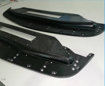 Karbonius E30 M3 Evo Sport Carbon Fibre front undertray/Splitter