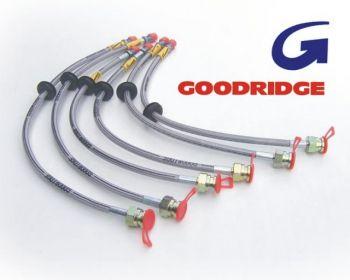 Goodridge Braided Brake Hoses (Zinc) BMW E46 M3 4 Line Kit