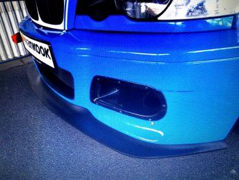 MK Motorsport GRP GT4 splitter for BMW E46 M3