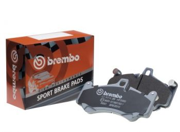 Brembo HP Sport Rear Brake pads for the BMW 135i 07.B315.03