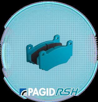 Pagid E4503 RSH29E Front Pads for Porsche 911 S 72-83