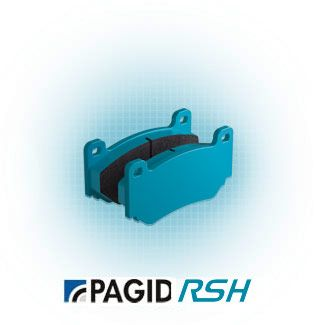 Pagid Racing E1151 in RSH42 compound brakepads for various Ginetta/ Mercedes cars
