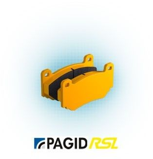 Pagid E1141 RSL19 rear brake pads for BMW with Stock calipers