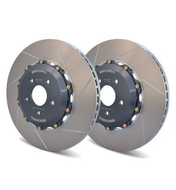 Girodisc Front 2pc Rotors for BMW F87 M2 Competition w/OEM Iron or CCM Rotor