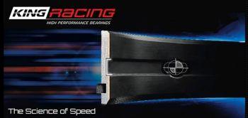 King Racing BMW M20, M50, S50, M52, M54, S54, Main Bearing Set XP Series