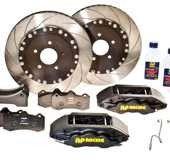 BMW E46 M3 Rear Replacement AP Racing Formula Brake kit for std Rear disks