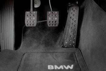 BimmerWorld BMW Pedal Set - Manual Transmission (Black)