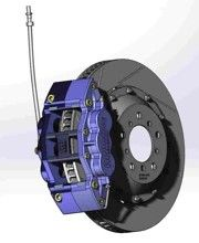 BMW E90, E92 and E93 M3 Replacement AP Racing Competition 6 Piston Front Brake Kit, 2008>2012.