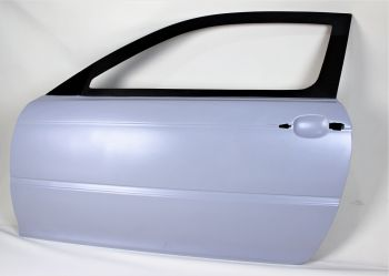 BMW E46 Coupe CF Race door with frame (Karbonius)