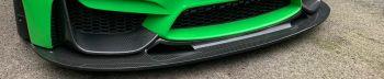 GT4 F8# M3/4 FRONT SPLITTER IN CARBON FIBRE
