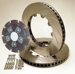 R35 GTR AP Brake Disk Upgrade 378 x 34mm for 2008 to 2011 Model year vehicles