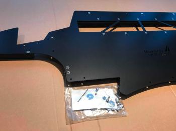 Mumbray Motorsport E9# M3 front Bumper Undertray