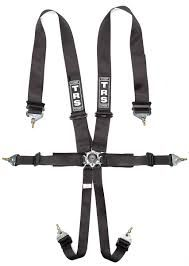 TRS Magnum 6pt superlight FIA legal Harness (Black)